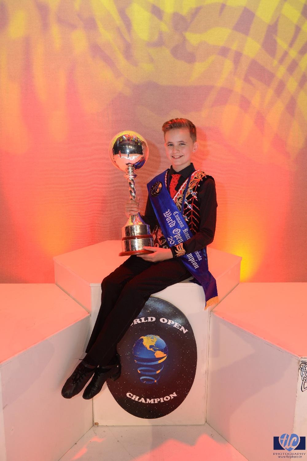 Under 15 Boys Championship winner