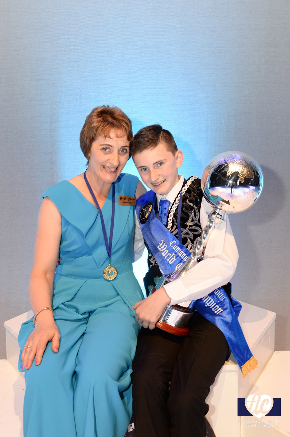 Boys under 13 World Champion and teacher