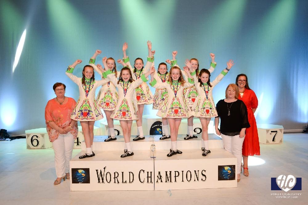 Ceili Naionan World Champions - Wexford Academy